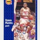 1991-92 Fleer Basketball #076 Vernon Maxwell - Houston Rockets