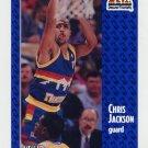 1991-92 Fleer Basketball #049 Chris Jackson - Denver Nuggets