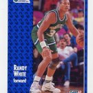 1991-92 Fleer Basketball #047 Randy White - Dallas Mavericks