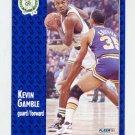 1991-92 Fleer Basketball #011 Kevin Gamble - Boston Celtics