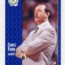 1991-92 Fleer Basketball #010 Chris Ford CO - Boston Celtics
