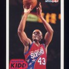 1993-94 Fleer Basketball #352 Warren Kidd RC - Philadelphia 76ers