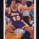 1993-94 Fleer Basketball #313 Antonio Harvey RC - Los Angeles Lakers