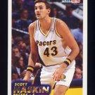 1993-94 Fleer Basketball #298 Scott Haskin RC - Indiana Pacers