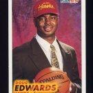 1993-94 Fleer Basketball #241 Doug Edwards RC - Atlanta Hawks