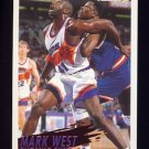 1994-95 Fleer Basketball #182 Mark West - Phoenix Suns
