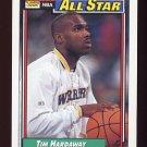 1992-93 Topps Basketball #119 Tim Hardaway - Golden State Warriors