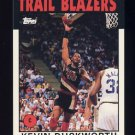 1992-93 Topps Archives Basketball #080 Kevin Duckworth - Portland Trail Blazers