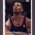 1993-94 Topps Basketball #370 Robert Pack - Denver Nuggets