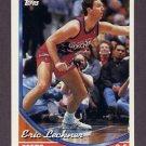 1993-94 Topps Basketball #332 Eric Leckner - Philadelphia 76ers
