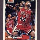 1993-94 Topps Basketball #326 Corie Blount - Chicago Bulls