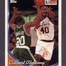 1993-94 Topps Basketball #250 Calbert Cheaney - Washington Bullets