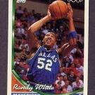 1993-94 Topps Basketball #225 Randy White - Dallas Mavericks