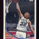 1993-94 Topps Basketball #196 Sean Elliott - San Antonio Spurs