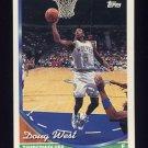 1993-94 Topps Basketball #193 Doug West - Minnesota Timberwolves