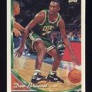 1993-94 Topps Basketball #180 Dee Brown - Boston Celtics