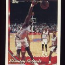 1993-94 Topps Basketball #163 Stanley Roberts - Los Angeles Clippers