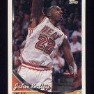 1993-94 Topps Basketball #161 John Salley - Miami Heat