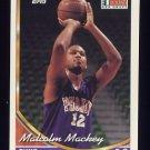 1993-94 Topps Basketball #139 Malcolm Mackey RC - Phoenix Suns