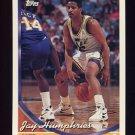 1993-94 Topps Basketball #122 Jay Humphries - Utah Jazz
