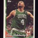 1993-94 Topps Basketball #089 Alaa Abdelnaby - Boston Celtics
