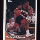 1993-94 Topps Basketball #084 Rod Strickland - Portland Trail Blazers