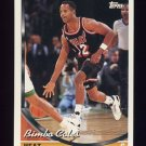 1993-94 Topps Basketball #073 Bimbo Coles - Miami Heat