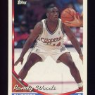 1993-94 Topps Basketball #056 Randy Woods - Los Angeles Clippers