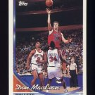 1993-94 Topps Basketball #055 Don MacLean - Washington Bullets