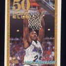 1993-94 Topps Basketball #050 Nick Anderson - Orlando Magic