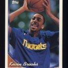 1993-94 Topps Basketball #032 Kevin Brooks - Denver Nuggets