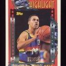 1993-94 Topps Basketball #004 Mahmoud Abdul-Rauf - Denver Nuggets