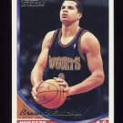1993-94 Topps Gold Basketball #362G Brian Williams - Denver Nuggets