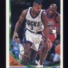 1993-94 Topps Gold Basketball #321G Ken Norman - Milwaukee Bucks
