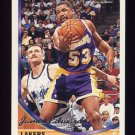1993-94 Topps Gold Basketball #106G James Edwards - Los Angeles Lakers
