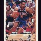 1994-95 Topps Basketball #030 John Starks - New York Knicks