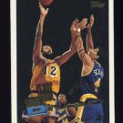 1995-96 Topps Basketball #255 Vlade Divac - Los Angeles Lakers