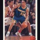 1996-97 Topps Basketball #208 Todd Fuller RC - Golden State Warriors