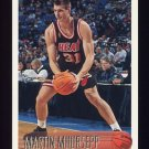 1996-97 Topps Basketball #160 Martin Muursepp RC - Miami Heat