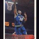 1996-97 Topps Basketball #157 Jamal Mashburn - Dallas Mavericks