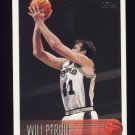 1996-97 Topps Basketball #143 Will Perdue - San Antonio Spurs