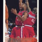 1996-97 Topps Basketball #129 Loy Vaught - Los Angeles Clippers