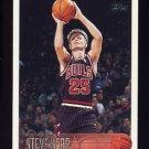 1996-97 Topps Basketball #126 Steve Kerr - Chicago Bulls
