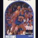 1989-90 Hoops Basketball #284 James Edwards - Detroit Pistons