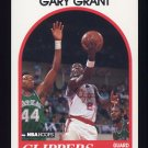 1989-90 Hoops Basketball #274 Gary Grant RC - Los Angeles Clippers