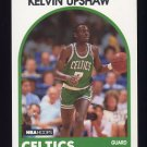 1989-90 Hoops Basketball #264 Kelvin Upshaw - Boston Celtics