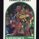 1989-90 Hoops Basketball #233 Derrick McKey - Seattle Supersonics