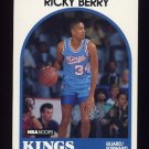 1989-90 Hoops Basketball #186 Ricky Berry SP - Sacramento Kings