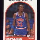 1989-90 Hoops Basketball #181 Randolph Keys - Cleveland Cavaliers