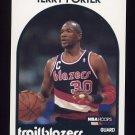 1989-90 Hoops Basketball #105 Terry Porter - Portland Trail Blazers